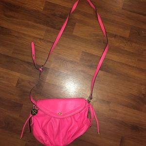 Juicy couture bright pink purse